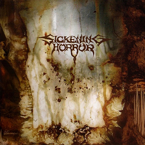 Sickening Horror - When Landscapes Bled Backwards recenzja okładka review cover