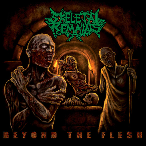 Skeletal Remains - Beyond The Flesh recenzja okładka review cover