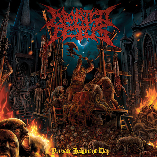 Aborted Fetus - Private Judgement Day recenzja okładka review cover