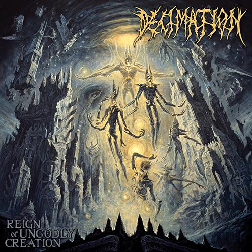 Decimation  Reign Of Ungodly Creation recenzja okładka review cover