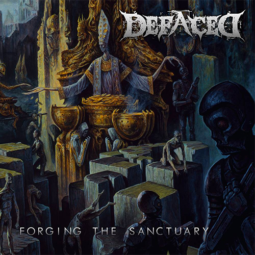 Defaced - Forging The Sanctuary recenzja okładka review cover