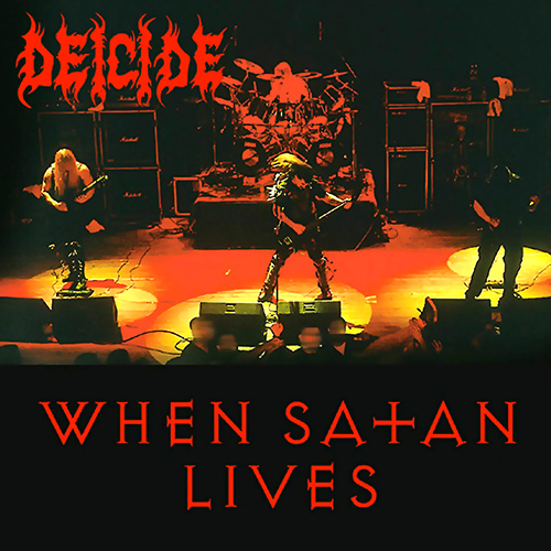 Deicide - When Satan Lives recenzja okładka review cover