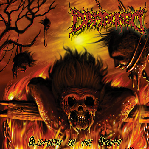 Disfigured - Blistering Of The Mouth recenzja okładka review cover