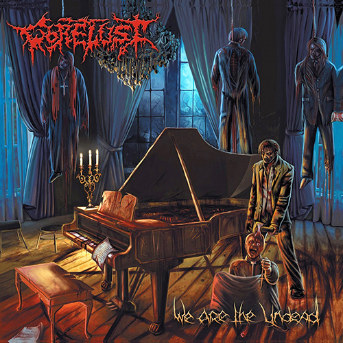 Gorelust - We Are The Undead recenzja okładka review cover