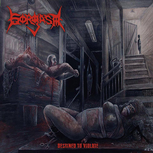 Gorgasm - Destined To Violate recenzja okładka review cover
