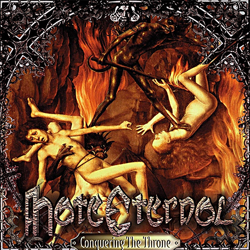 Hate Eternal - Conquering The Throne recenzja okładka review cover