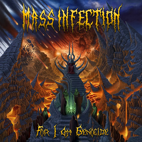 Mass Infection - For I Am Genocide recenzja okładka review cover