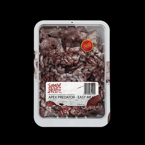 Napalm Death - Apex Predator - Easy Meat recenzja okładka review cover