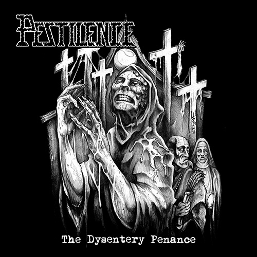 Pestilence - The Dysentery Penance recenzja okładka review cover