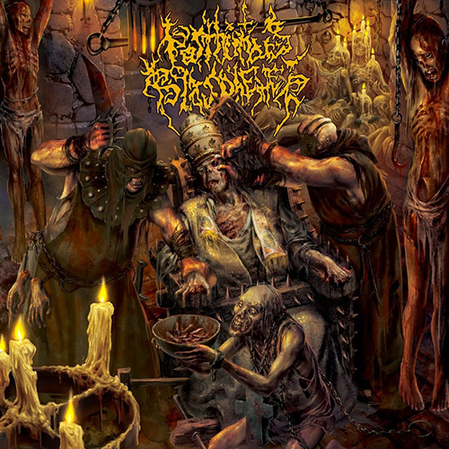 Posthumous Blasphemer - Exhumation Of Sacred Impunity recenzja okładka review cover