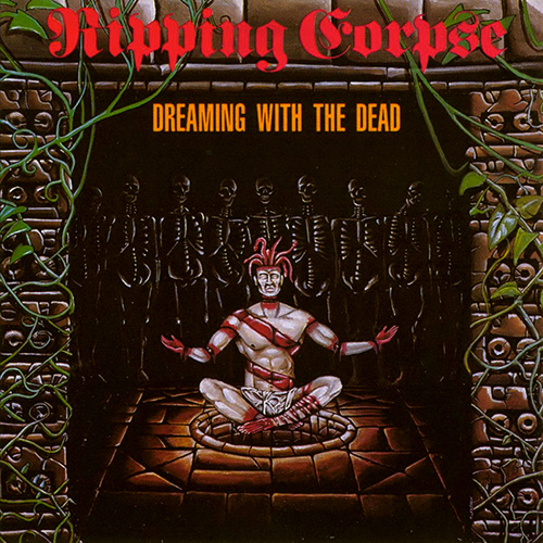 Ripping Corpse - Dreaming With The Dead recenzja okładka review cover