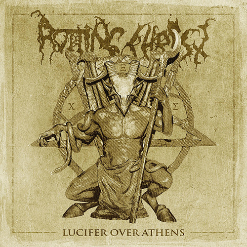 Rotting Christ - Lucifer Over Athens recenzja okładka review cover