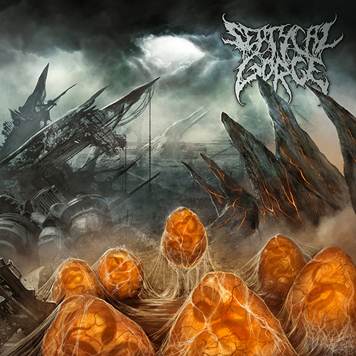 Septycal Gorge - Scourge Of The Formless Breed recenzja okładka review cover