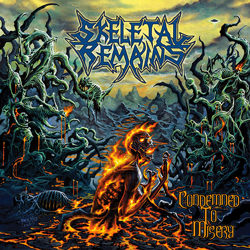 Skeletal Remains - Condemned To Misery recenzja okładka review cover