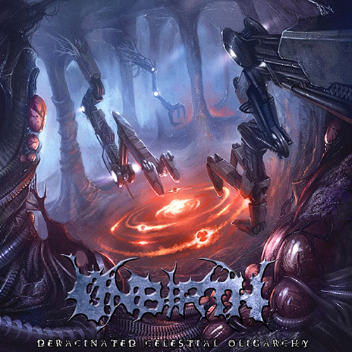 Unbirth - Deracinated Celestial Oligarchy recenzja okładka review cover