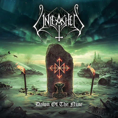Unleashed - Dawn Of The Nine recenzja okładka review cover