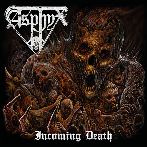 Asphyx - Incoming Death recenzja okładka review cover