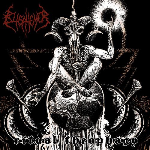 Blasphemer - Ritual Theophagy recenzja okładka review cover