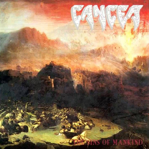 Cancer - The Sins Of Mankind recenzja okładka review cover