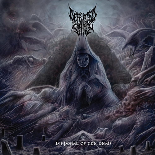 Defeated Sanity - Disposal Of The Dead // Dharmata recenzja okładka review cover