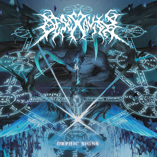 Desecravity - Orphic Signs recenzja okładka review cover