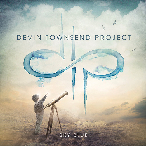 Devin Townsend Project - Sky Blue recenzja okładka review cover