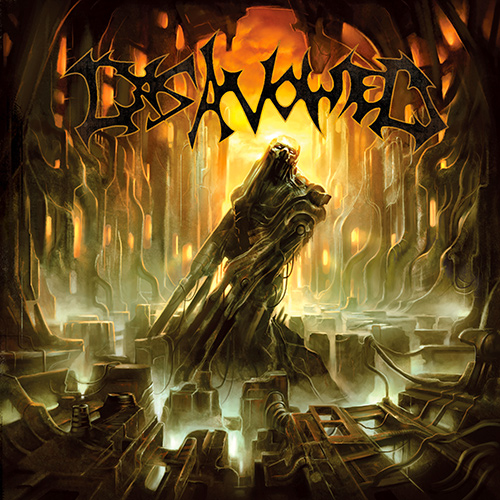 Disavowed - Stagnated Existence recenzja okładka review cover