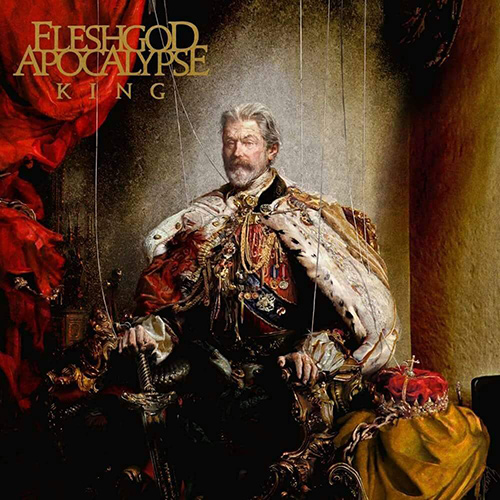 Fleshgod Apocalypse - King recenzja okładka review cover