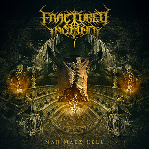 Fractured Insanity - Man Made Hell recenzja okładka review cover