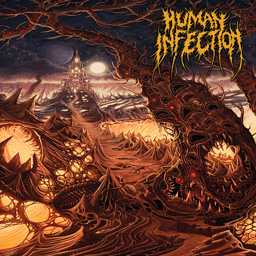 Human Infection - Curvatures In Time recenzja okładka review cover