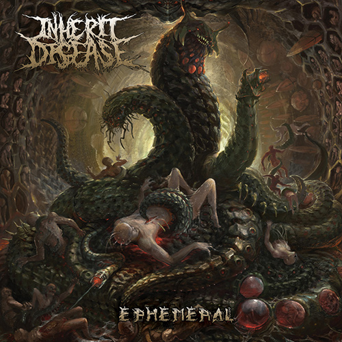 Inherit Disease - Ephemeral recenzja okładka review cover