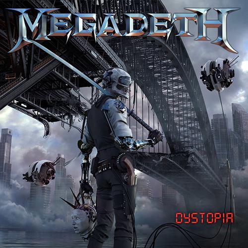 Megadeth - Dystopia recenzja okładka review cover