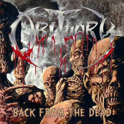 Obituary - Back From The Dead recenzja okładka review cover