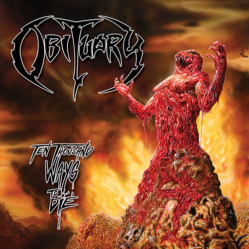 Obituary - Ten Thousand Ways To Die recenzja okładka review cover