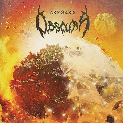 Obscura - Akróasis recenzja okładka review cover