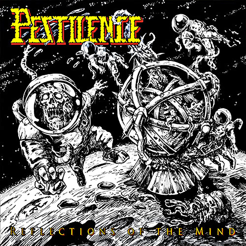 Pestilence - Reflections Of The Mind recenzja okładka review cover