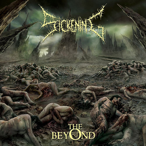 Sickening - The Beyond recenzja okładka review cover