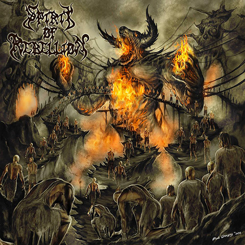 Spirit Of Rebellion - The Enslavement Process recenzja okładka review cover