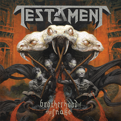 Testament - Brotherhood Of The Snake recenzja okładka review cover