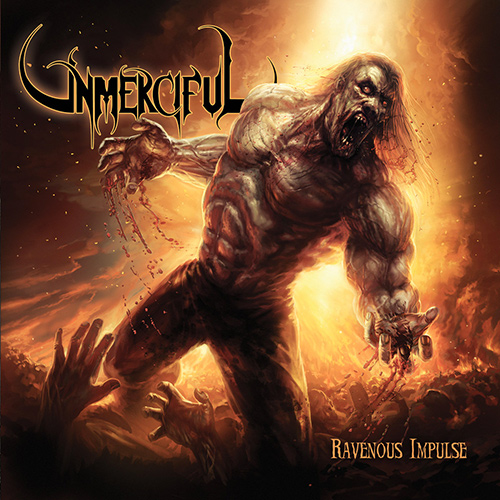 Unmerciful - Ravenous Impulse recenzja okładka review cover