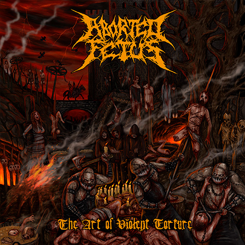Aborted Fetus - The Art Of Violent Torture recenzja okładka review cover