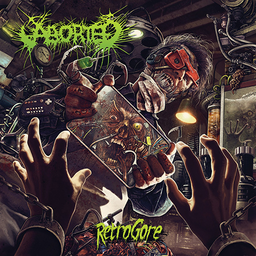 Aborted - Retrogore recenzja okładka review cover