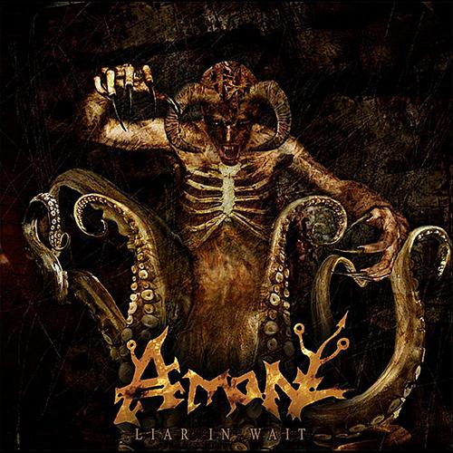 Amon - Liar In Wait recenzja okładka review cover