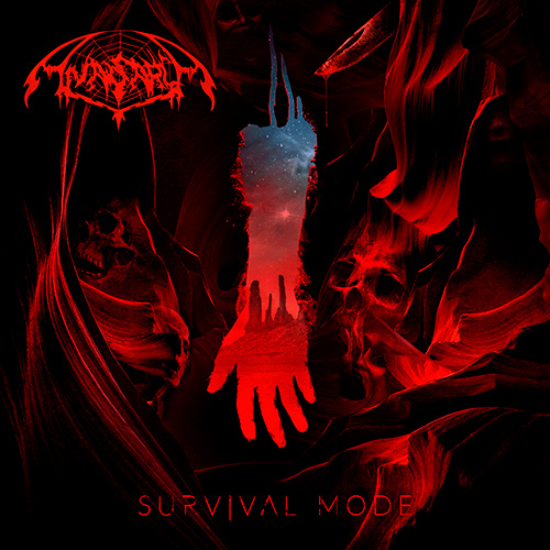 Anasarca - Survival Mode recenzja okładka review cover