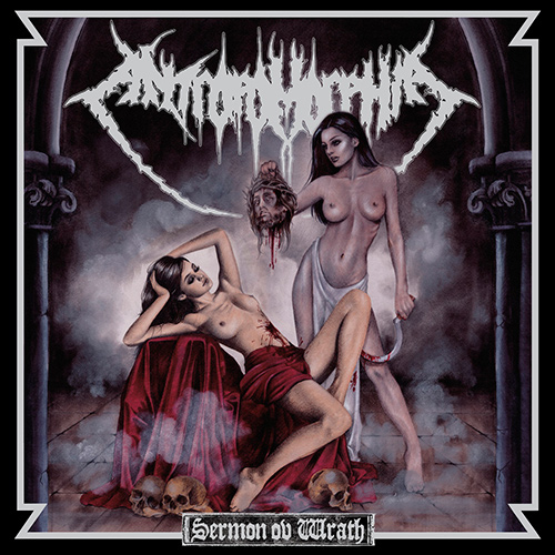 Antropomorphia - Sermon Ov Wrath recenzja okładka review cover