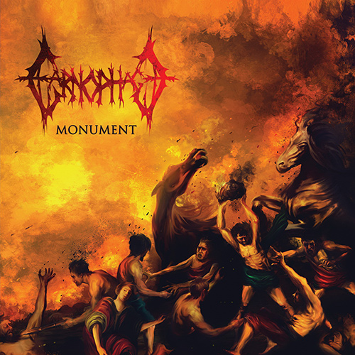 Carnophage - Monument recenzja okładka review cover