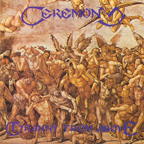 Ceremony - Tyranny From Above recenzja okładka review cover