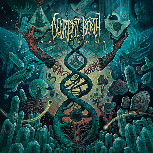 Decrepit Birth - Axis Mundi recenzja okładka review cover