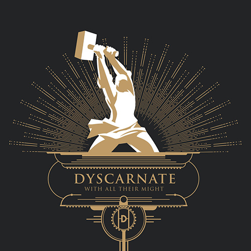 Dyscarnate - With All Their Might recenzja okładka review cover