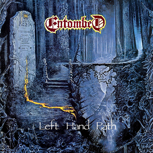 Entombed - Left Hand Path recenzja okładka review cover